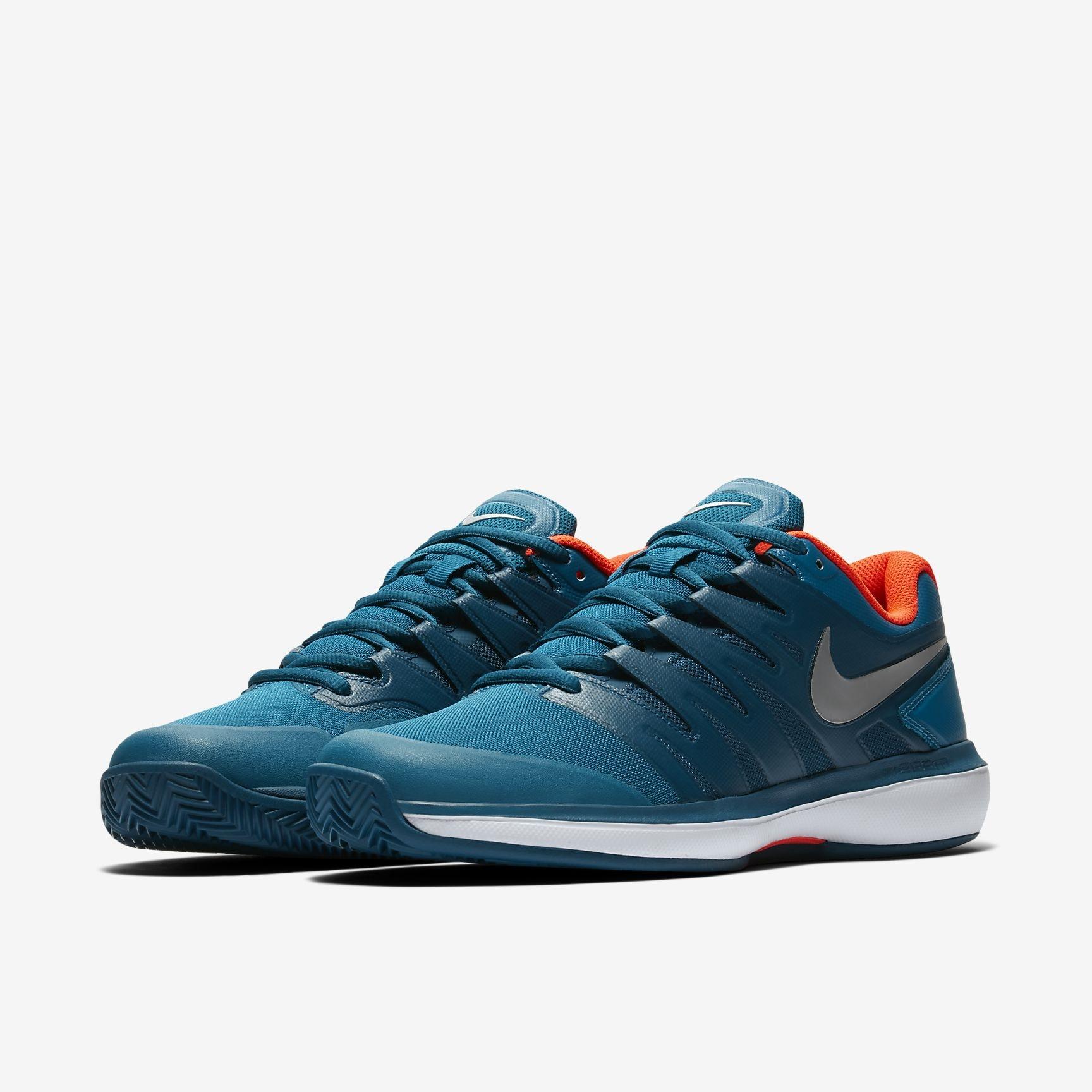 Nike Air Zoom Prestige ClayPadel Blue | Ketcherspecialisten.dk