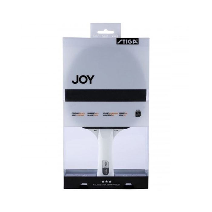 Stiga Joy 3-Star Black/White