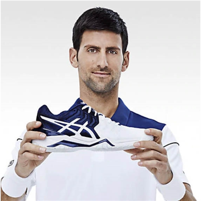 Asics Gel-Resolution Novak Classic Navy/White