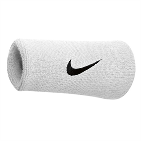 Nike Double Wristband White
