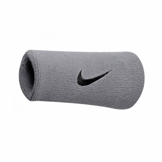 Nike Double Wristband Grey
