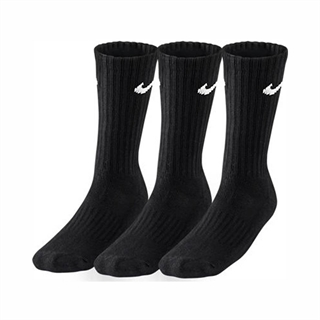 Nike Training Cushioned 3-pack Black