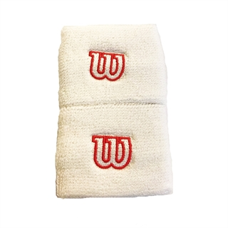 Wilson Wristband Short White/Red