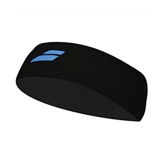 Babolat Headband Black Blue Logo