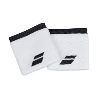 Babolat Logo Wristband White/Rabbit