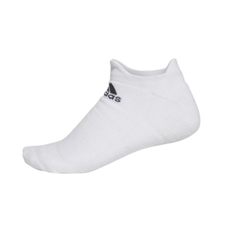 Adidas Alphaskin No Show Socks White