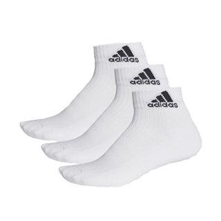 Adidas 3-Stripes Ankle Socks White 3-pack