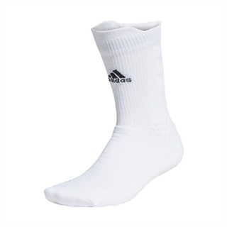 Adidas Alphaskin Crew Socks White