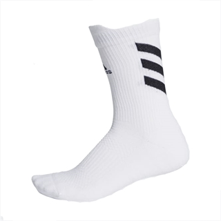 Adidas Alphaskin Techfit Crew Socks White